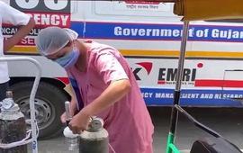 Các bệnh viện Ấn Độ cạn kiệt oxy cho bệnh nhân COVID-19