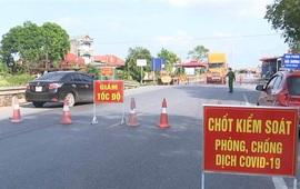 Bắc Ninh: Giãn cách xã hội huyện Yên Phong theo Chỉ thị 15 từ 14h ngày 15/5