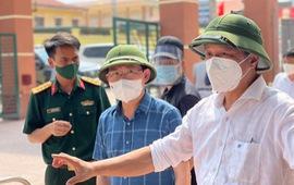 Thứ trưởng Bộ Y tế: Chỉ để lọt 1 ca COVID-19 là có thể thành 'bom nổ chậm'
