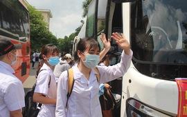 267 cán bộ, sinh viên Đại học Kỹ thuật Y tế Hải Dương hỗ trợ tỉnh Bắc Ninh, Bắc Giang phòng, chống dịch