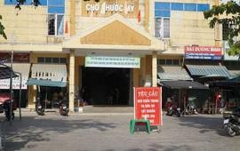 Đà Nẵng: Tạm dừng hoạt động chợ Phước Mỹ, lấy mẫu xét nghiệm toàn bộ tiểu thương