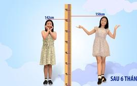 Chuyên gia tư vấn về tăng chiều cao, tăng cân cho trẻ em