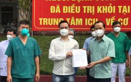 2 bệnh nhân COVID-19 nặng đầu tiên của Bắc Giang khỏi bệnh