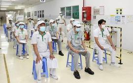 TP Hồ Chí Minh tiếp tục triển khai tiêm vaccine COVID-19 cho công nhân
