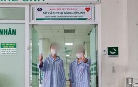 2 bệnh nhân trẻ tuổi mắc COVID-19 nguy kịch hồi phục thần kỳ