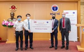 Bộ Y tế tiếp nhận 150.000 hộp thuốc hỗ trợ điều trị bệnh không lây nhiễm của Công ty AstraZeneca