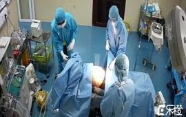 Phẫu thuật cấp cứu bệnh nhân COVID-19 bị thủng dạ dày