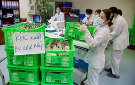 1.000 đơn vị máu lên đường trong đêm góp sức cùng miền Nam kiên cường chống dịch