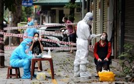 Phát hiện 1 ca cộng đồng tại quận Long Biên, Hà Nội thêm 15 ca mắc COVID-19 trưa 18/9