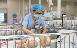Nhiều trẻ bị nhiễm khuẩn huyết do tụ cầu vàng