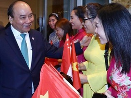 PM concludes trip for 33rd ASEAN Summit in Singapore
