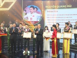 Outstanding young faces of 2018 honored
