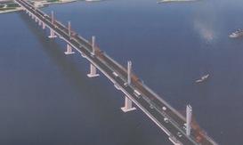 Quảng Ngãi: Động thổ dự án xây dựng cầu Cửa Đại