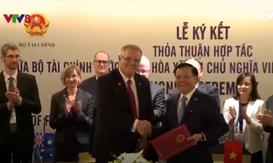 Bộ Tài chính Việt Nam và Bộ Ngân khố Australia ký bản ghi nhớ