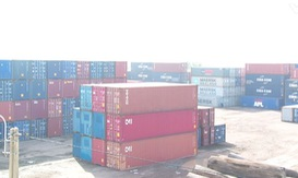 Xuất khẩu gỗ tại Bình Định bị dồn ứ do tàu hàng chìm