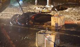 Đà Nẵng: Vướng dây điện rơi xuống đường, chồng tử vong, vợ cấp cứu