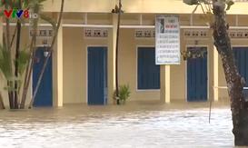 Quảng Ngãi cảng báo lũ dâng cao trở lại