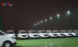 Trao tặng 14 xe cứu thương cho các bệnh viện trên toàn quốc