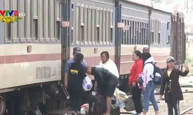 Lượng khách đi tàu từ Đà Nẵng ra Bắc vào Nam đều tăng