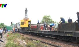 Dự kiến 12h hôm nay (27/5) thông tuyến đường sắt Bắc - Nam tại ga Núi Thành, Quảng Nam