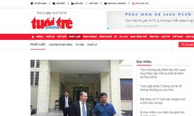 Báo Tuổi trẻ Online bị đình bản 3 tháng, phạt 220 triệu