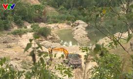 Khánh Hòa: Tăng cường xử lí khai thác cát trái phép trên các sông
