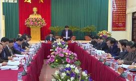 Hội nghị kiểm điểm của Ban Thường vụ Tỉnh ủy Nghệ An