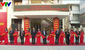 Quảng Bình: Khai trương Trung tâm Hành chính công