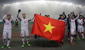 Thưởng nóng 1,4 tỷ đồng cho U23 Việt Nam