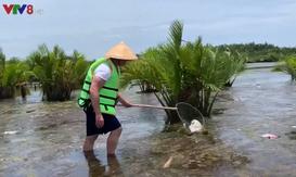 Du khách Tây sang Việt Nam, bỏ tiền ra để được đi nhặt rác
