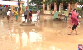 Quảng Trị khẩn trương dọn dẹp khi nước rút