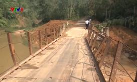 Khắc phục hạ tầng giao thông bị thiệt hại ở vùng cao Quảng Nam