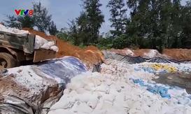Quảng Trị: Tiêu hủy thủy sản tẩm ướp tồn kho do sự cố môi trường Fomorsa