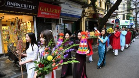 Hanoi's Old Quarter hosts various cultural activities to greet new spring