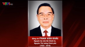 Thông cáo đặc biệt tang lễ nguyên Thủ tướng Phan Văn Khải