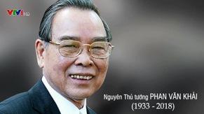 Nguyên Thủ tướng Phan Văn Khải và dấu ấn cải cách