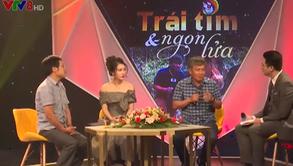 """Chương trình truyền hình đặc sắc do VTV8 tổ chức mang tên """"Trái tim & Ngọn lửa"""""""