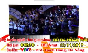 Thông báo tuyển người chơi gameshow Bộ ba hoàn hảo (8h30, Chủ nhật, 12/11)