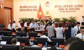 HĐND TP. Đà Nẵng họp phiên bất thường: Miễn nhiệm và bầu bổ sung hàng loạt chức vụ