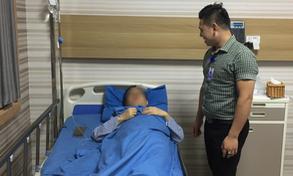 Cấp cứu bệnh nhân ngoại quốc vỡ ruột thừa nguy kịch trong đêm