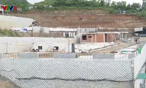 Khánh Hòa: Vẫn chưa tháo dỡ bức tường trái phép ở khu biệt thự Đồi Xanh