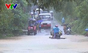 Thanh Hóa: Ngập cầu tràn tại xã Thiết Kế, huyện Bá Thước