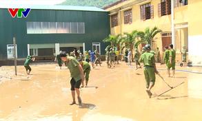 Nghệ An: Học sinh vùng cao chưa thể đến trường