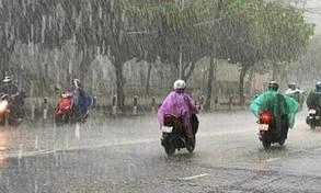 Từ 14/10, mưa lớn diễn ra ở khu vực Trung Bộ