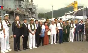 Tàu sân bay Mỹ thăm Đà Nẵng