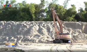 Ninh Thuận: Khai thác cát tràn lan, trách nhiệm thuộc về ai?