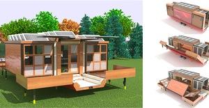 """""""Choáng"""" với những thiết kế nhà di động có thể dịch chuyển muôn nơi"""