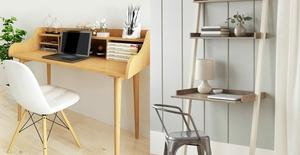 Những ý tưởng cho góc làm việc vừa nhỏ gọn vừa siêu tiện ích tại nhà