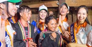 Ngắm những khoảnh khắc gần gũi của thí sinh Hoa hậu Hữu nghị ASEAN