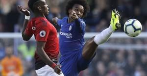 ẢNH: Chelsea hòa kịch tính trước Man Utd tại Stamford Bridge